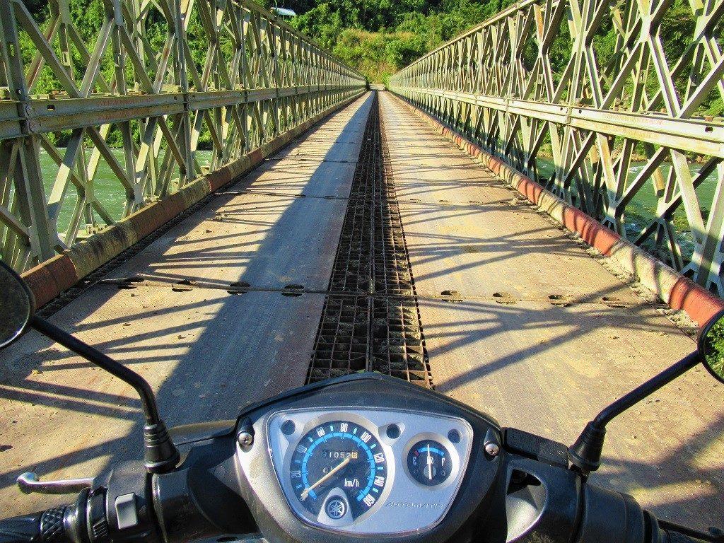Bridge over the Dong Nai River, Dak Nong Province, Vietnam