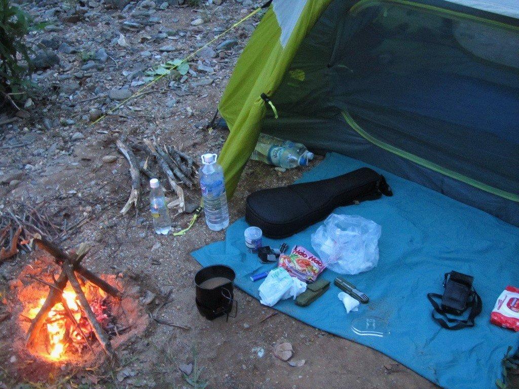 Camping supplies, Dalat, Vietnam