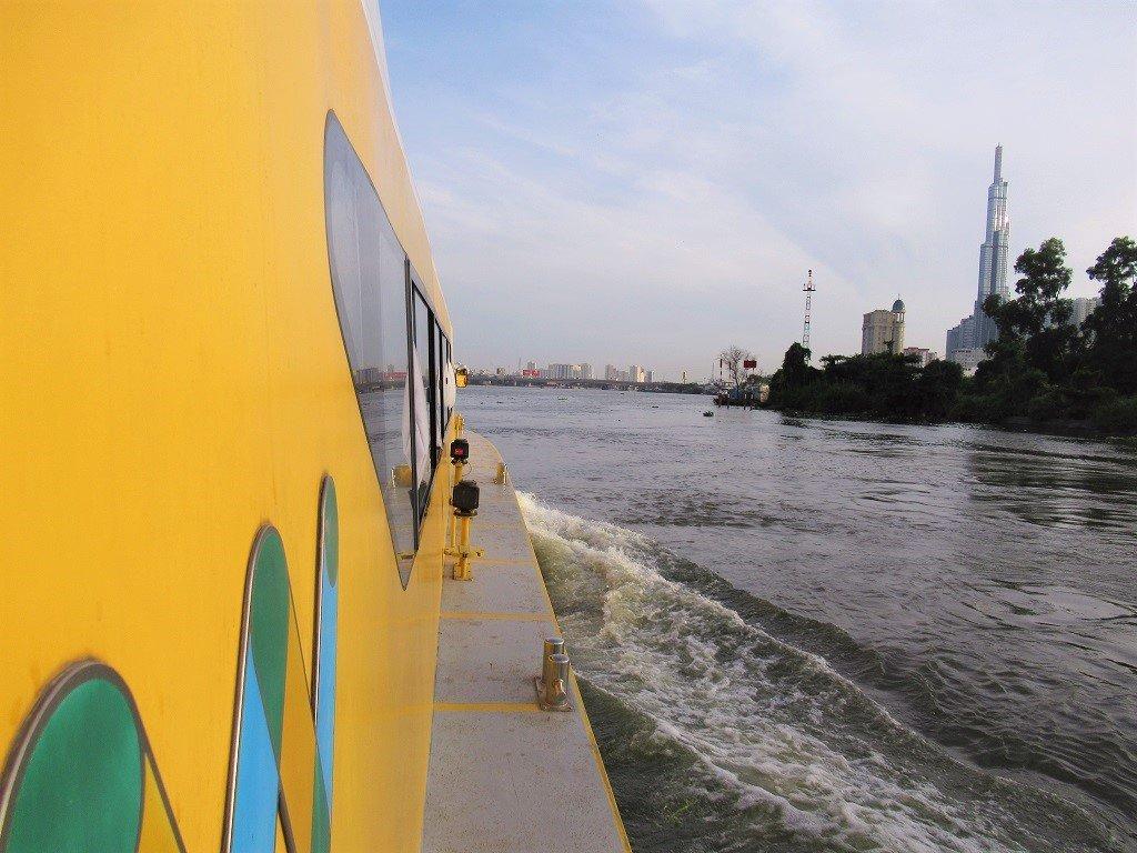 The Saigon Waterbus, Ho Chi Minh City, Vietnam