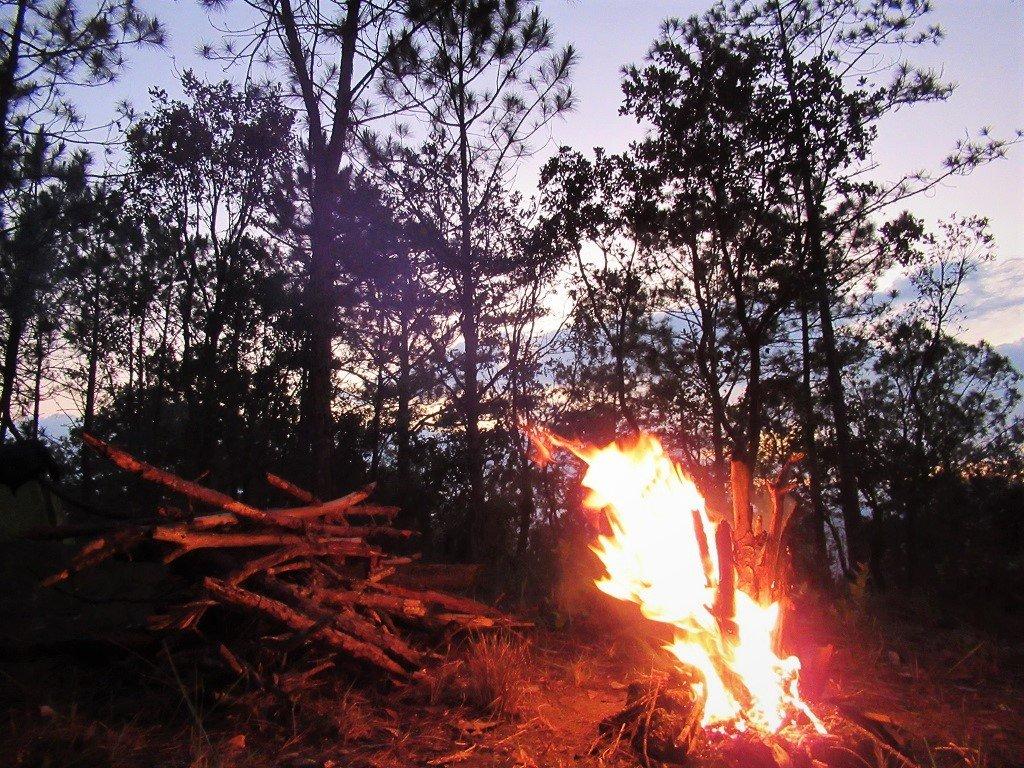 Campfire, Dalat, Vietnam