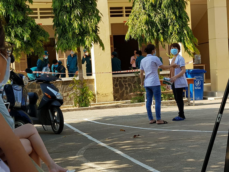 Waiting for instructions, COVID-19 quarantine facility, Vietnam