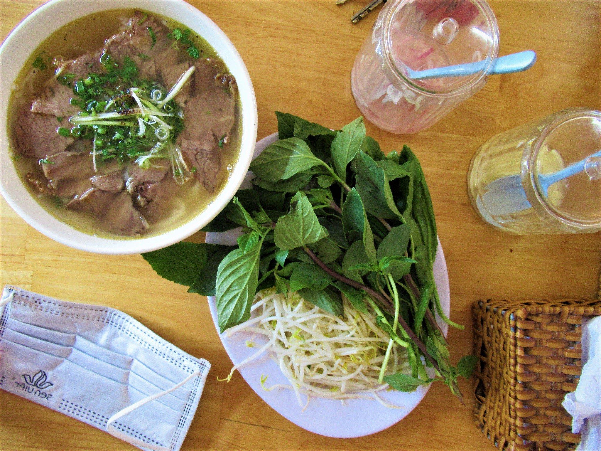 Phở bò, Vietnamese beef noodle soup