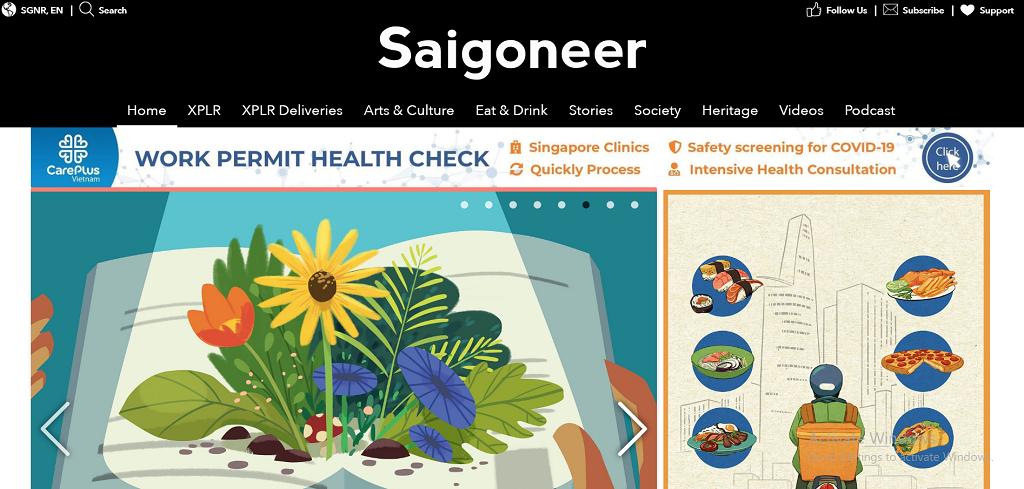 Saigoneer Homepage