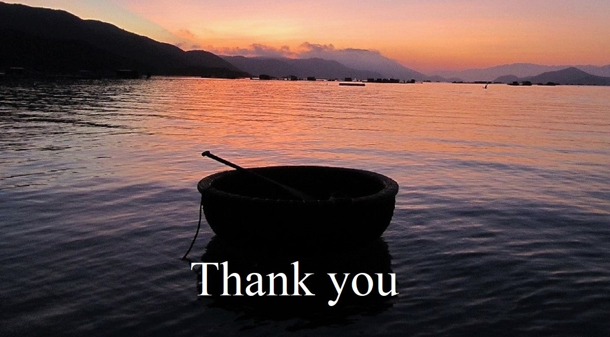 Thank you, Vietnam Coracle