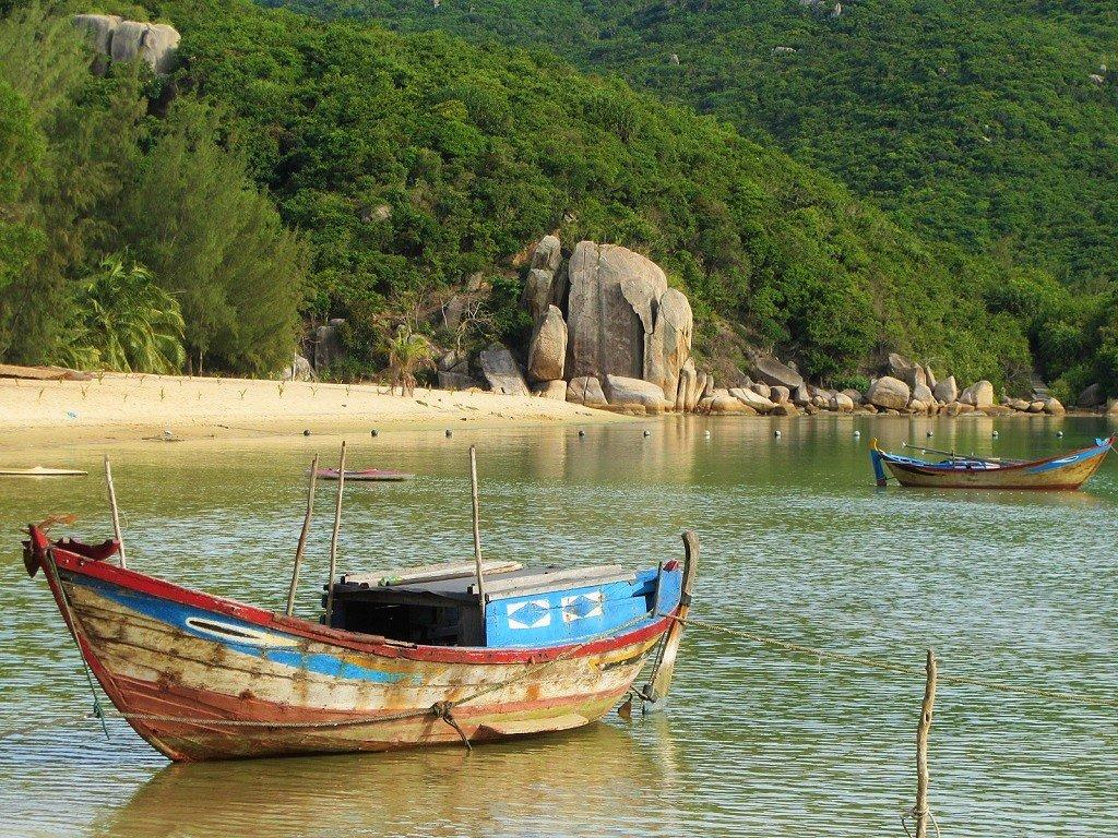 Hon Gom Sandbar, Khanh Hoa Province, Vietnam
