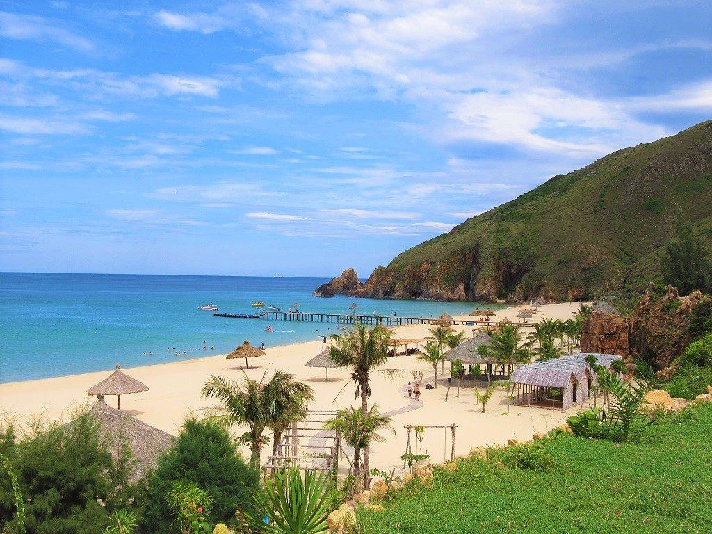 Ky Co Beach, Binh Dinh Province, Vietnam