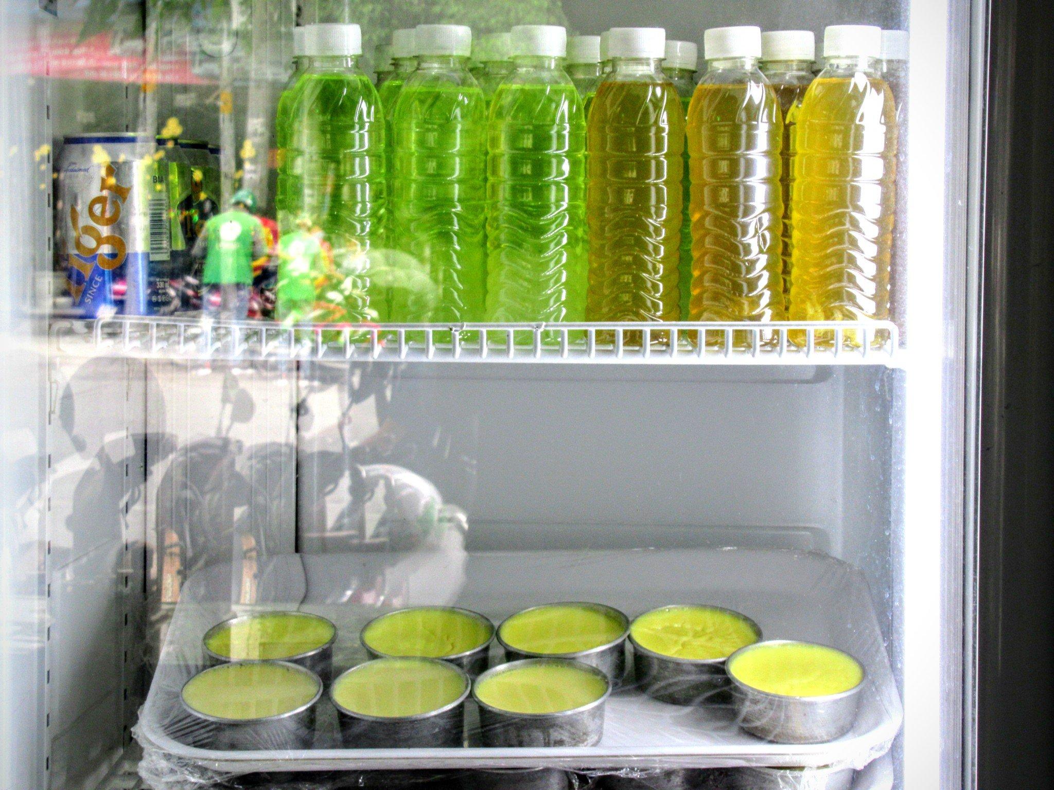 Drinks & dessert at Ngoc Han curry house, Saigon, Ho Chi Minh City, Vietnam