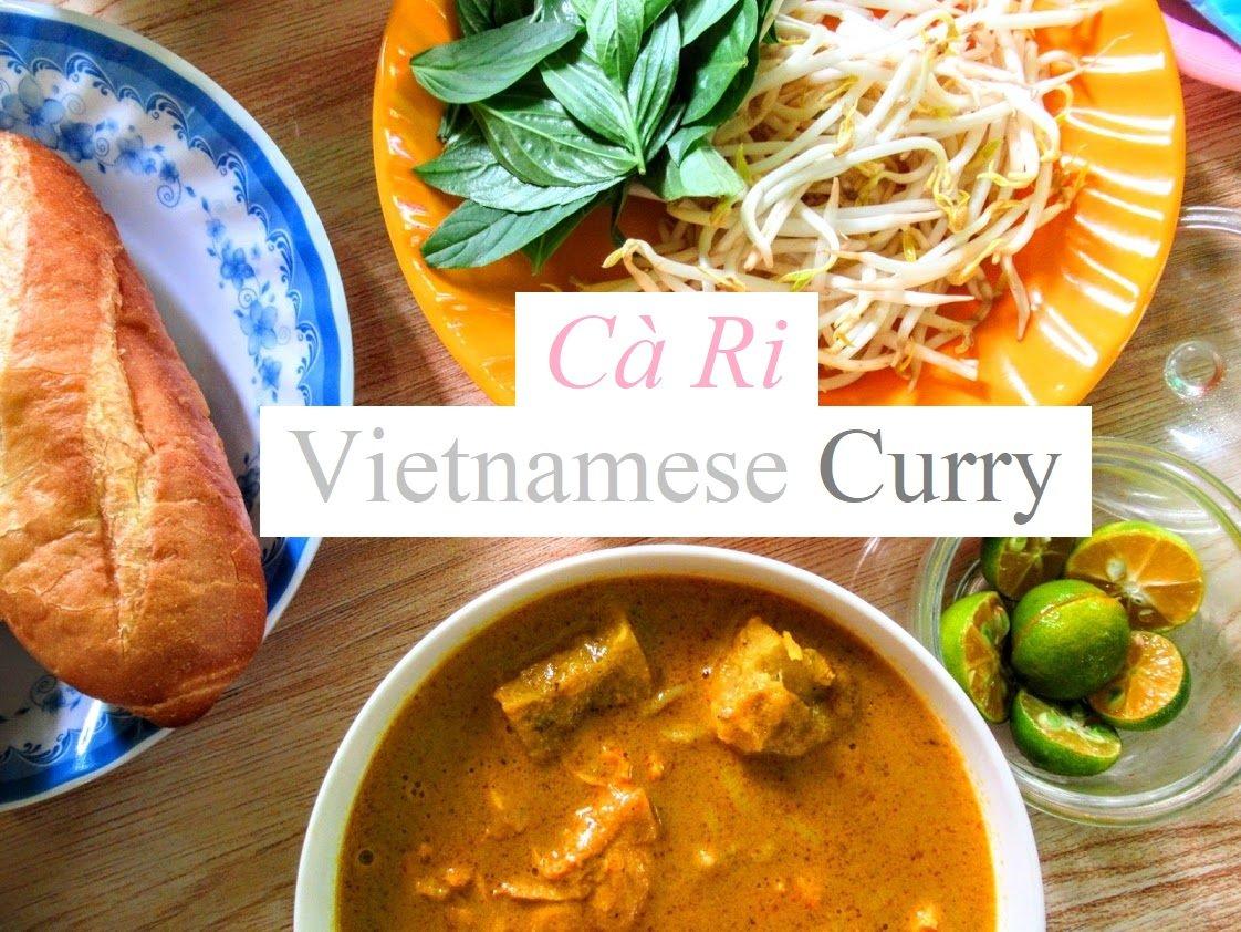 Vietnamese curry (cà ri) at Ngoc Han Curry House, Saigon, Ho Chi Minh City