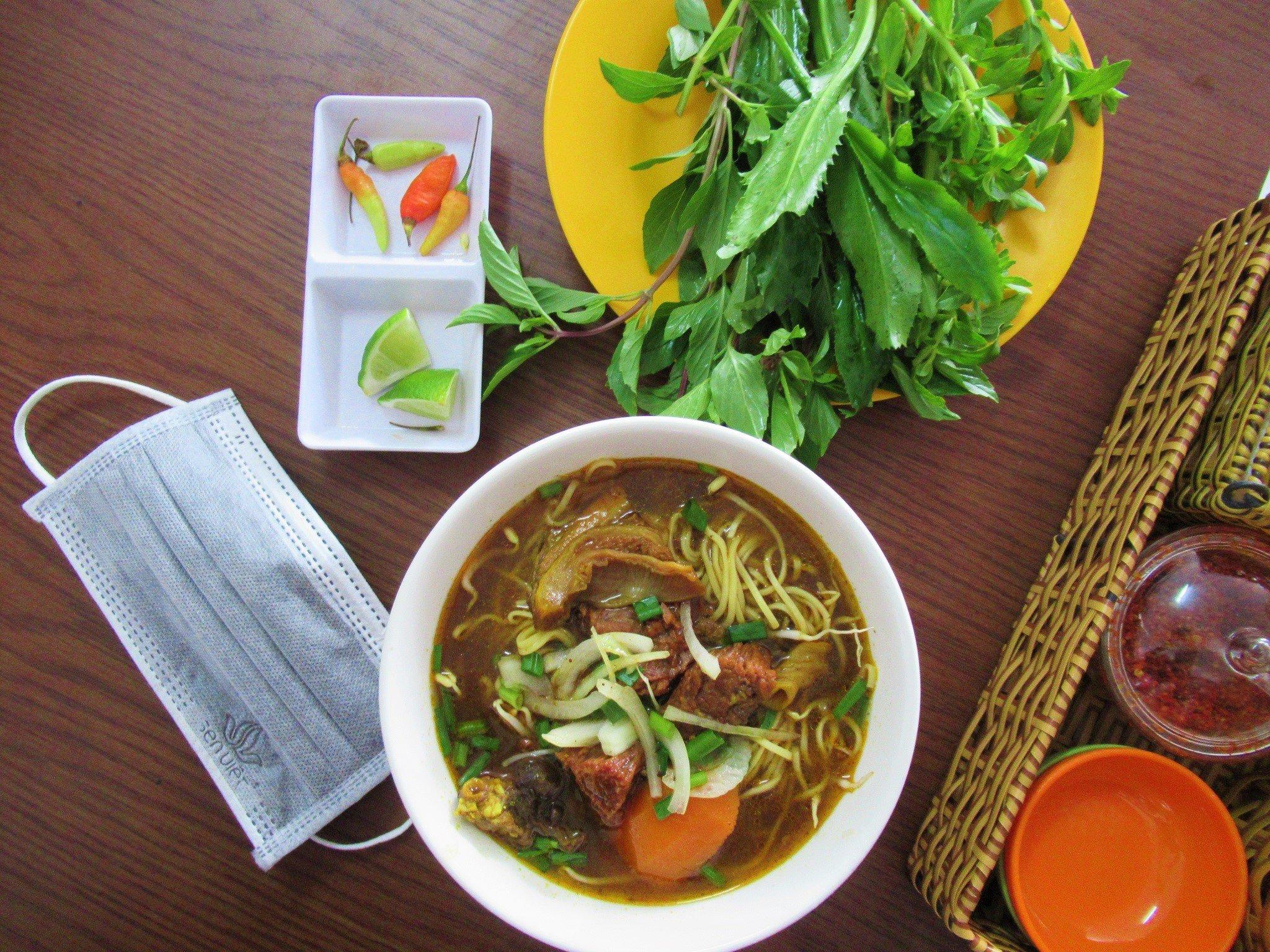 Street food in Ha Tien, Mekong Delta, Vietnam