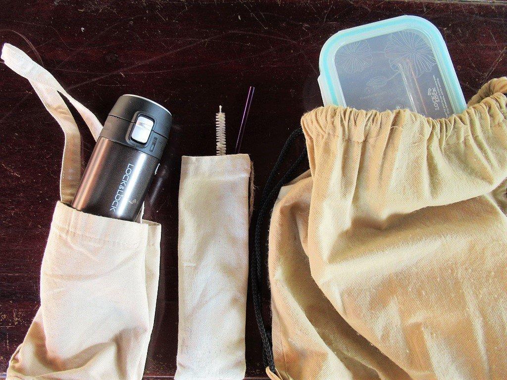 Reusable alternatives to single-use items