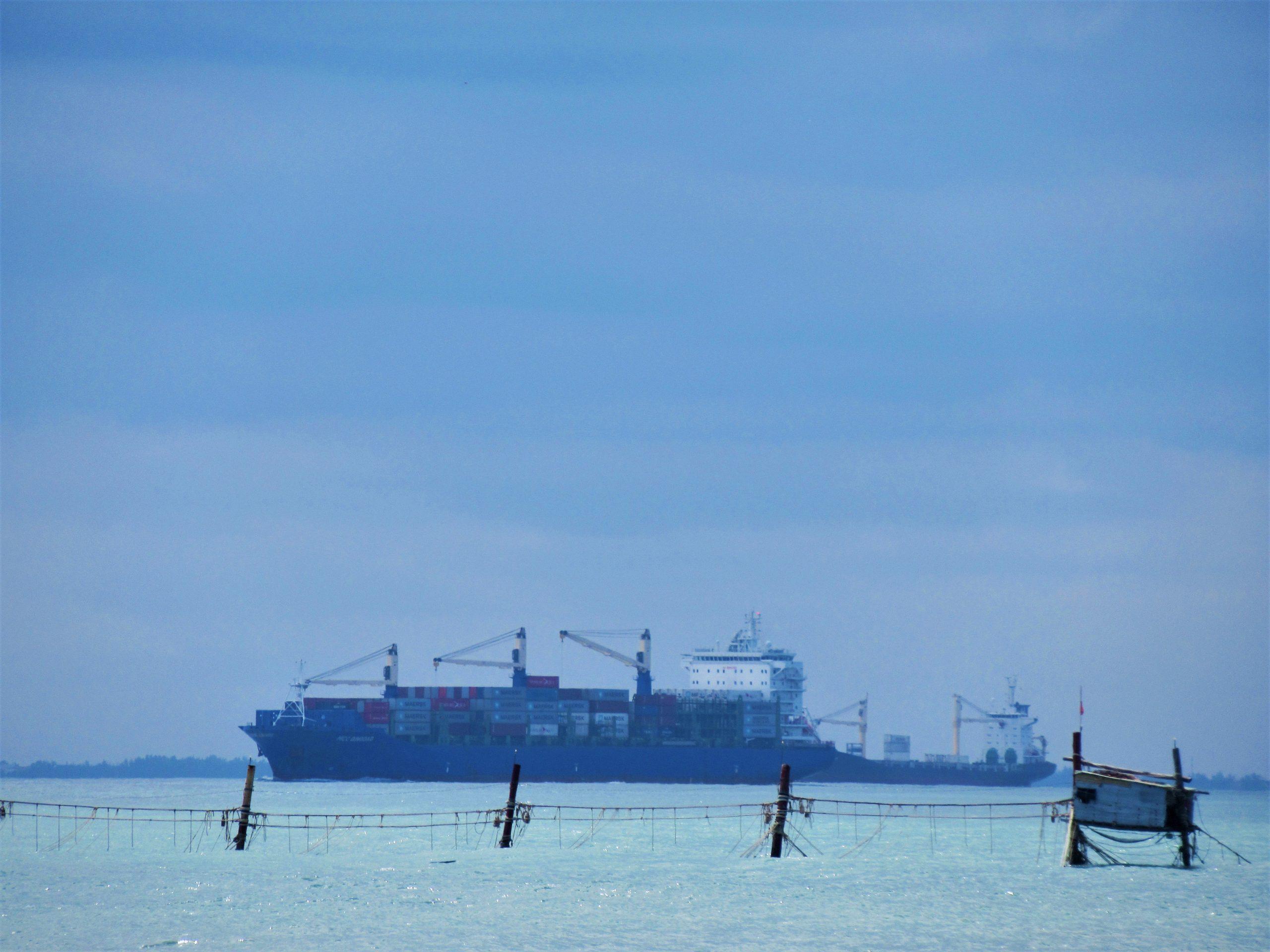 Tankers at sea, Vung Tau, Vietnam