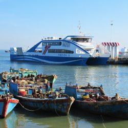 The New Can Gio-Vung Tau Car Ferry