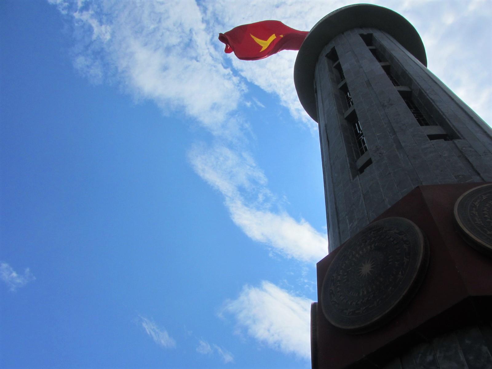 Lung Cu 'North Pole' flagstaff