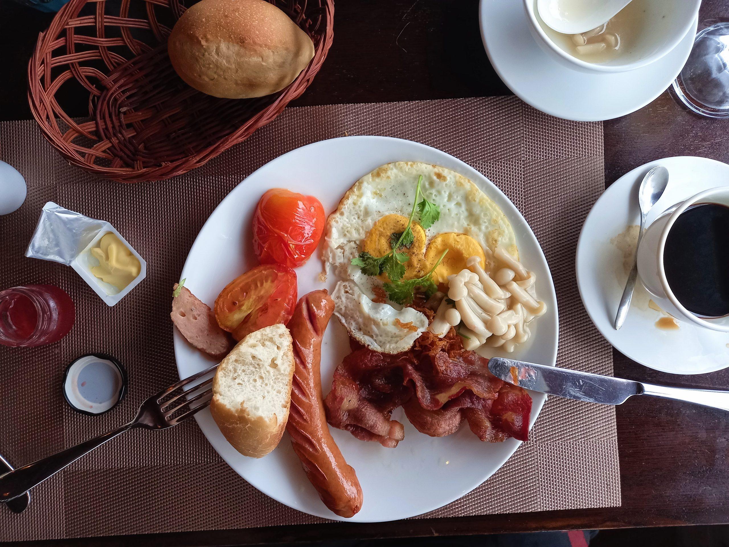 Breakfast at Gold Coast Resort, Phu Quoc Island, Vietnam