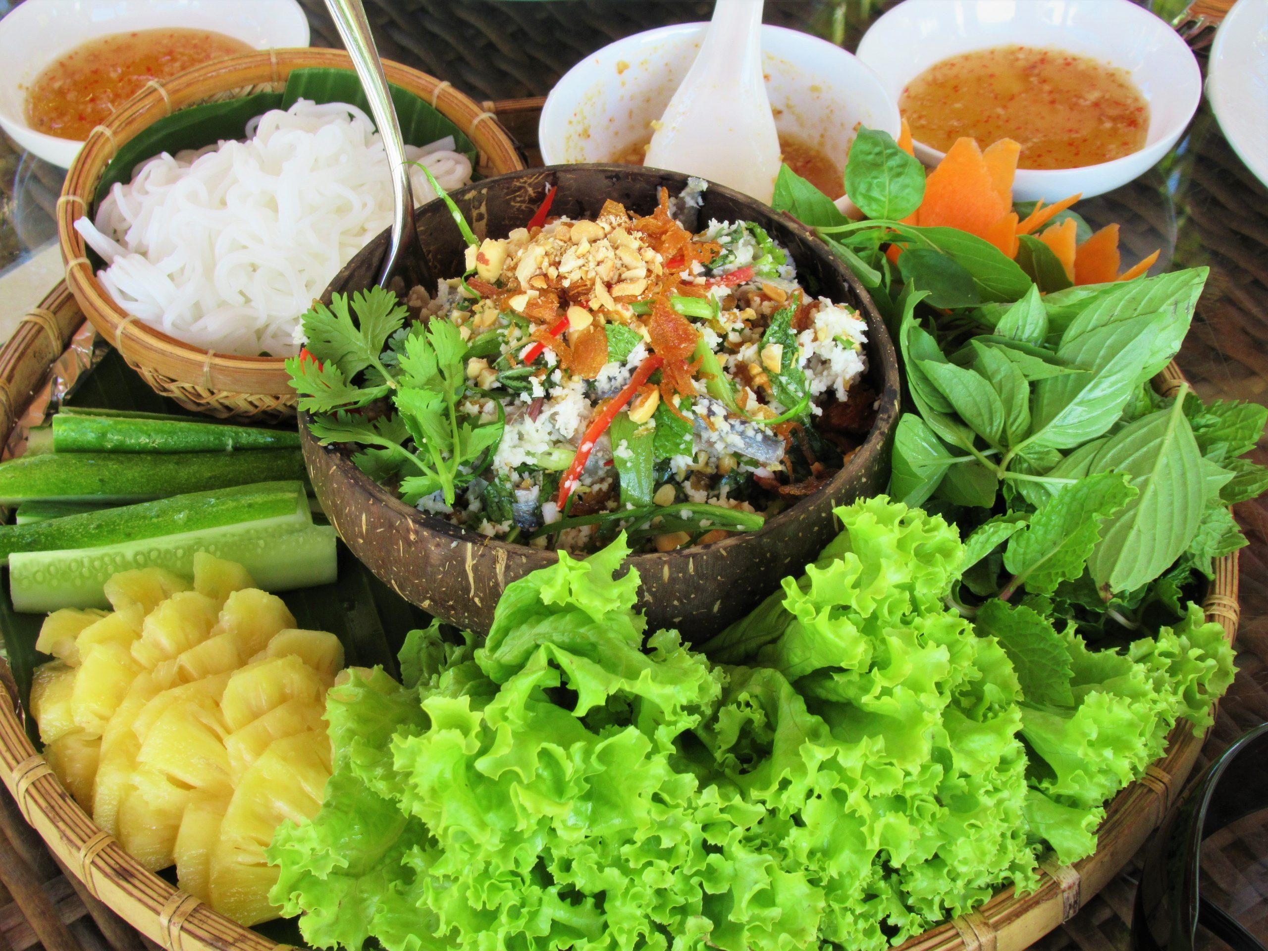 Herring salad, Gold Coast Resort, Phu Quoc Island, Vietnam