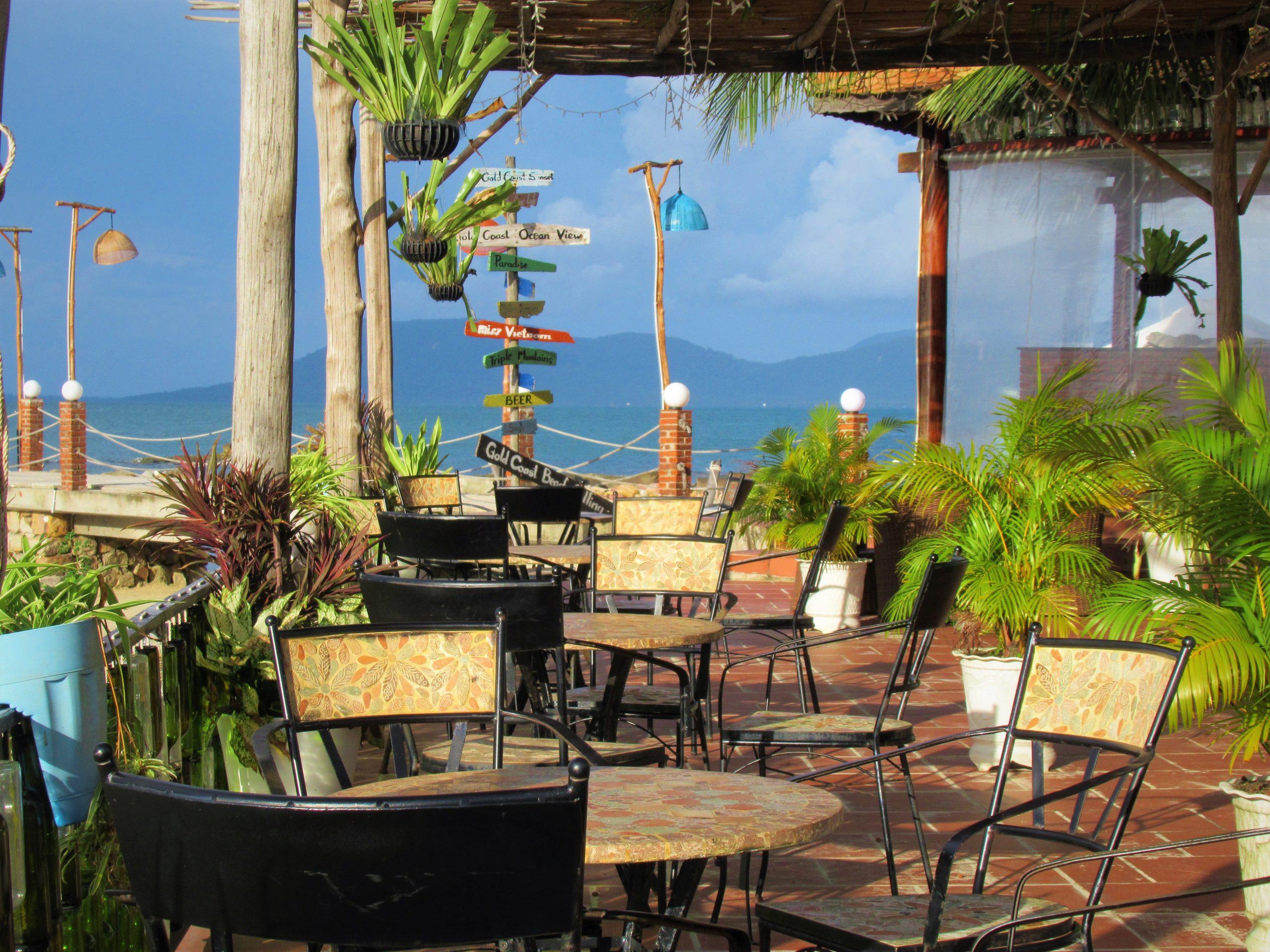 Beach bar at Gold Coast Resort, Phu Quoc Island, Vietnam
