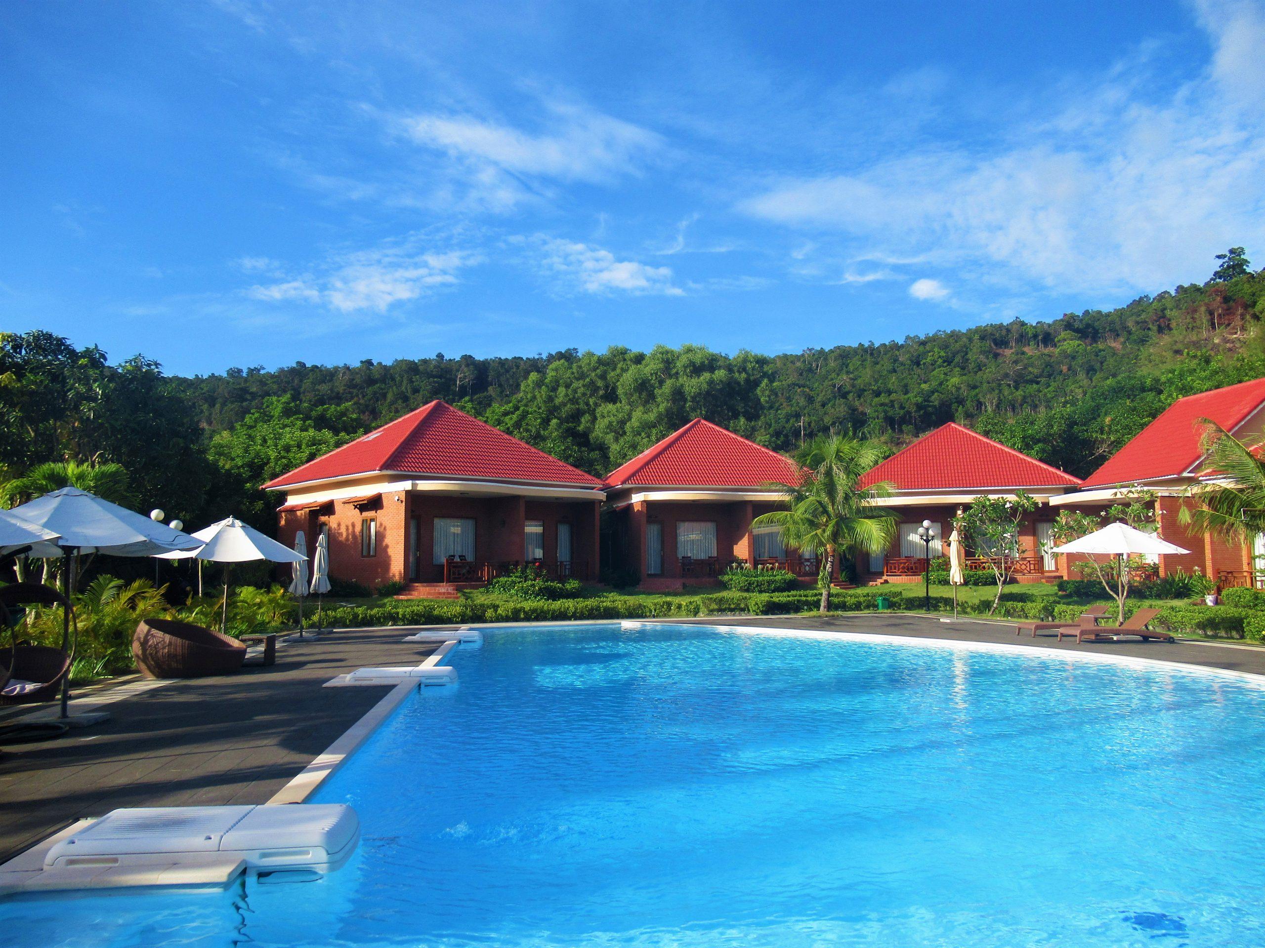 Swimming pool, Gold Coast Resort, Phu Quoc Island, Vietnam