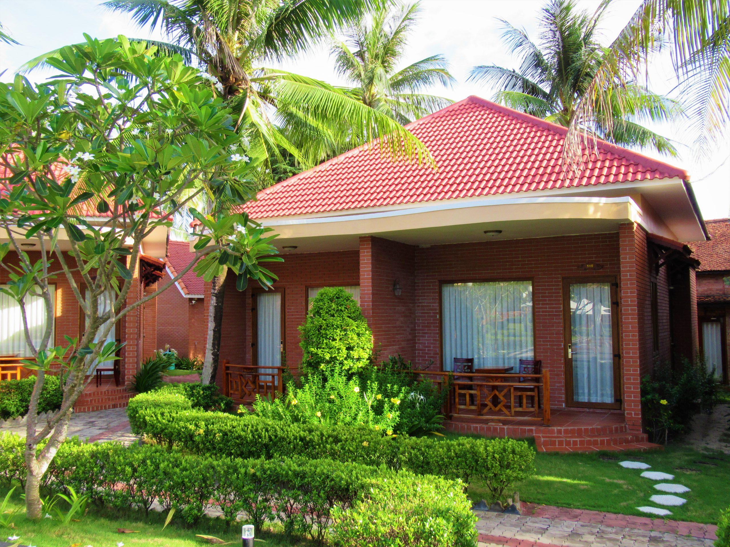 Pool view guest room exterior, Gold Coast Resort, Phu Quoc Island, Vietnam