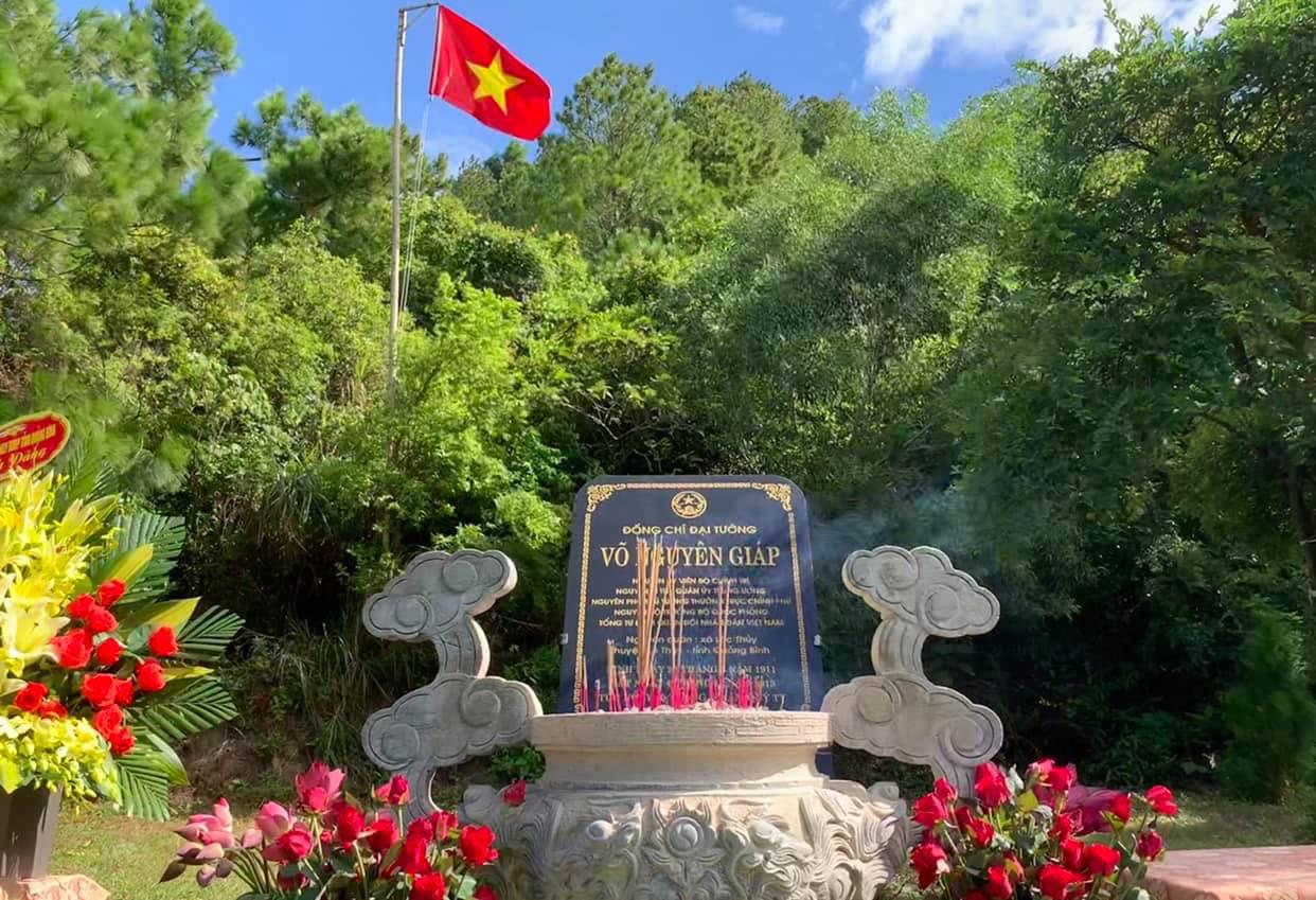 General Giáp's tomb, Central Vietnam