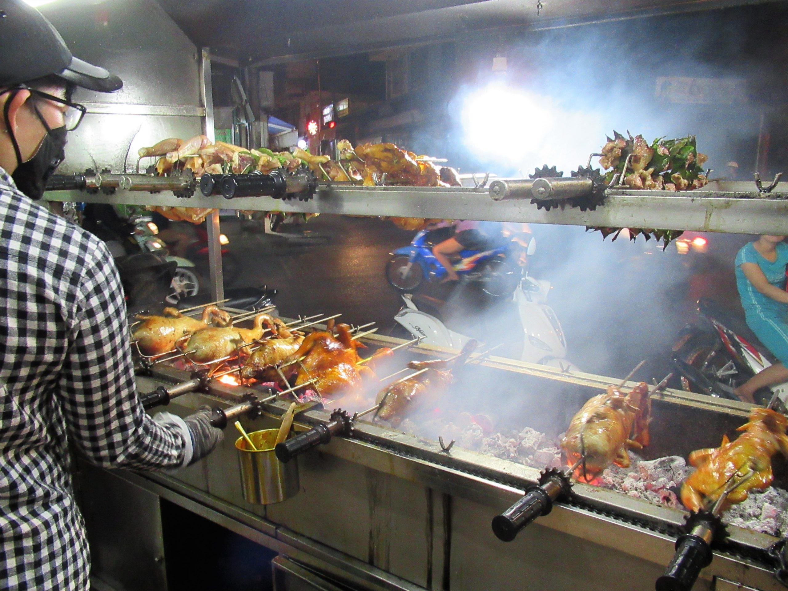 Roasting chicken, Vung Tau